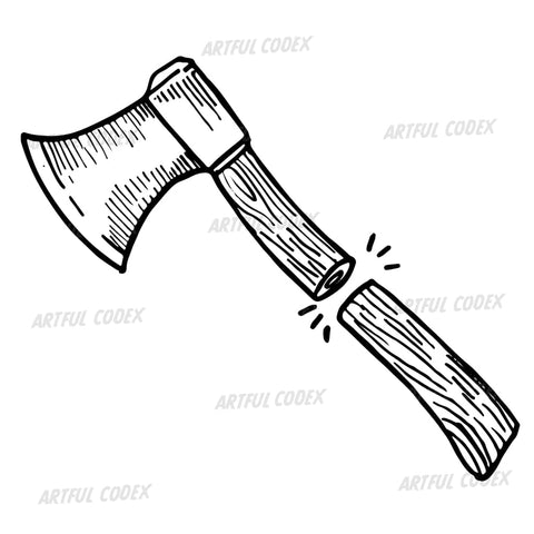 Axe Illustration