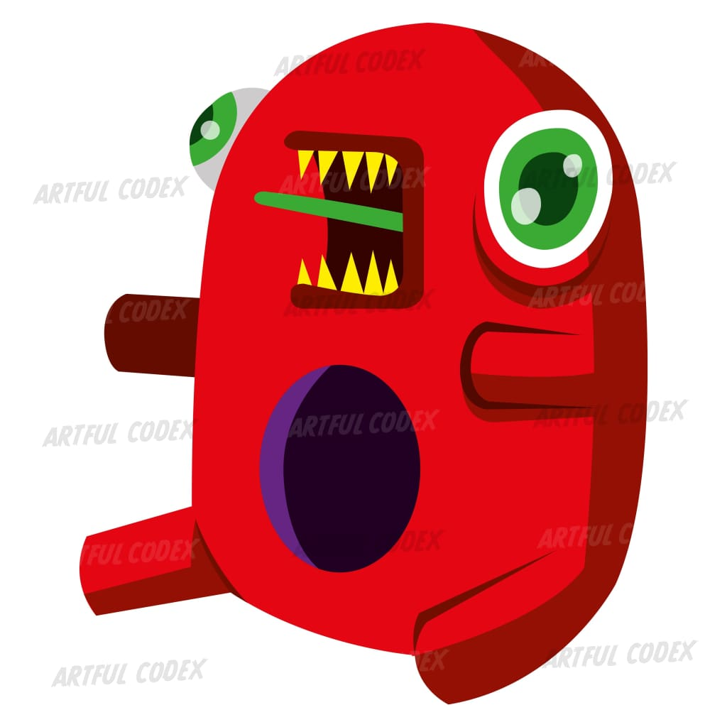 Baby Monster Illustration