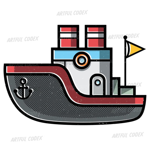 Boat Illustration