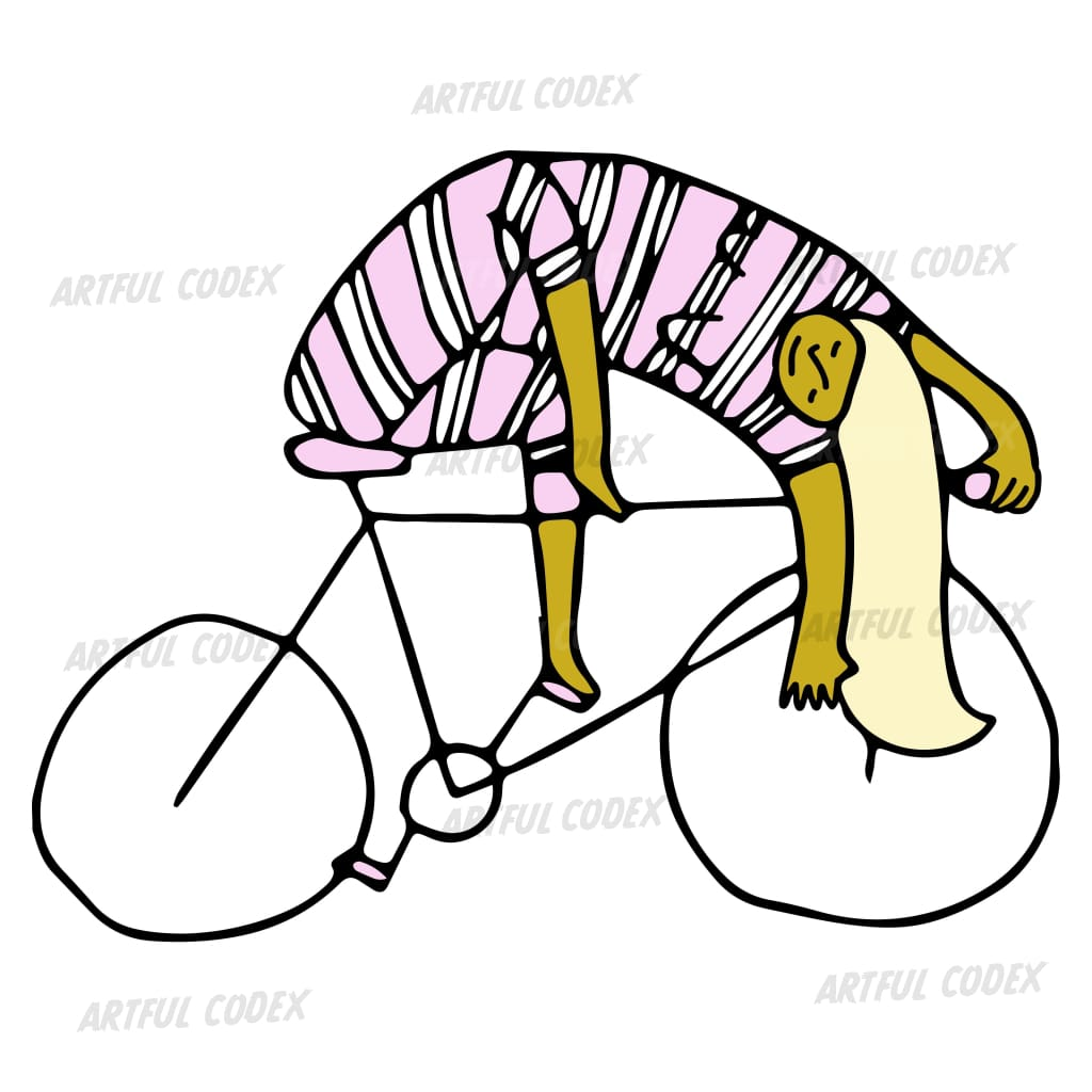 Cycle Girl 2 Illustration