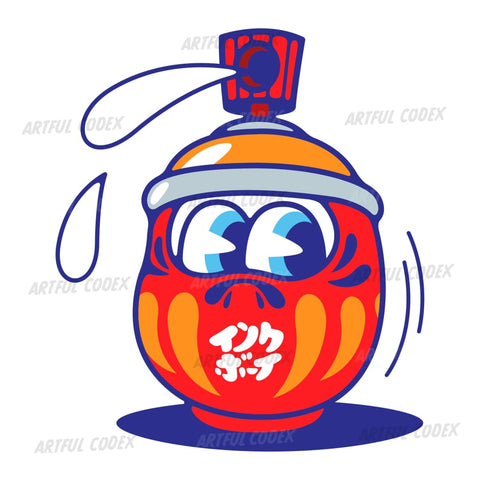Daruma Illustration