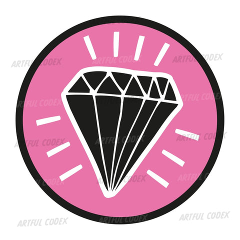 Diamond Bling Illustration