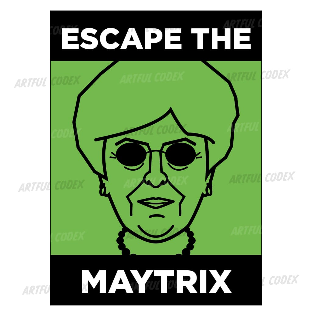 Escape The Maytrix Illustration