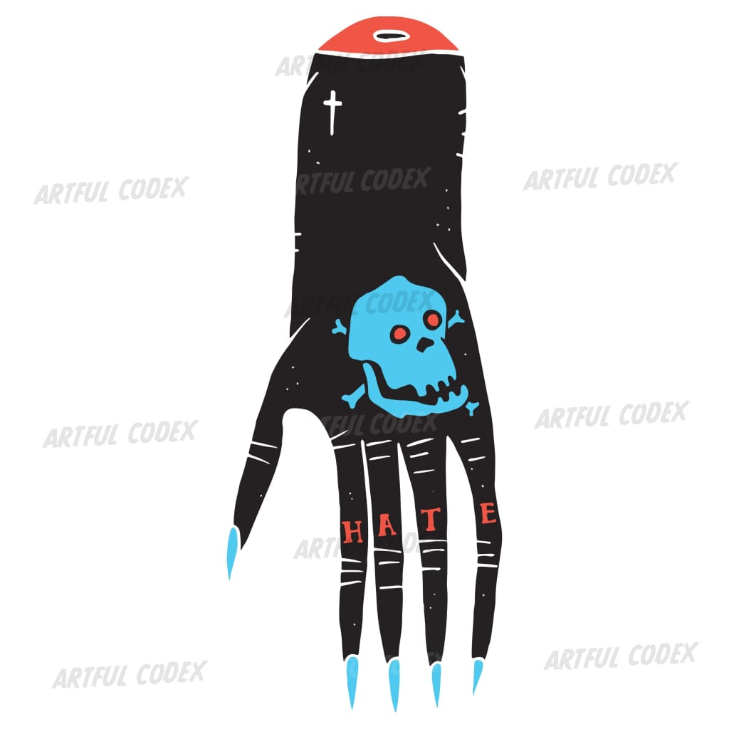 Evil Hand 2 Illustration