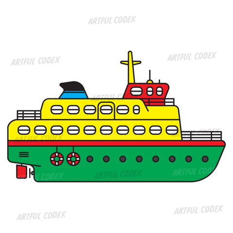 Ferry Illustration