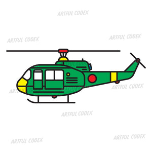 Helicopter Illustration