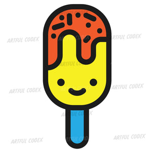 Ice Lolly Illustration