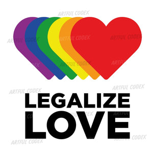 Legalize Love Illustration