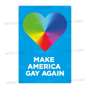 Make America Gay Again Illustration