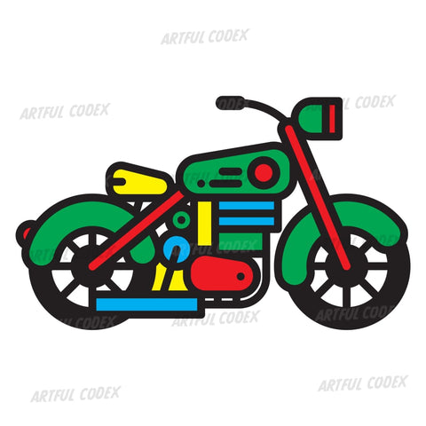Motorbike Illustration