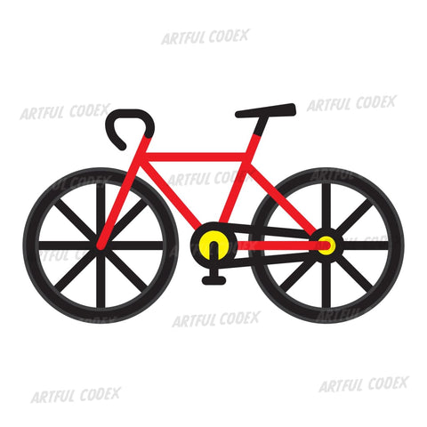 Racing Bike Illustration