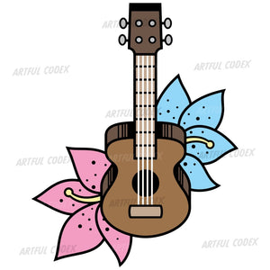 Ukulele Illustration