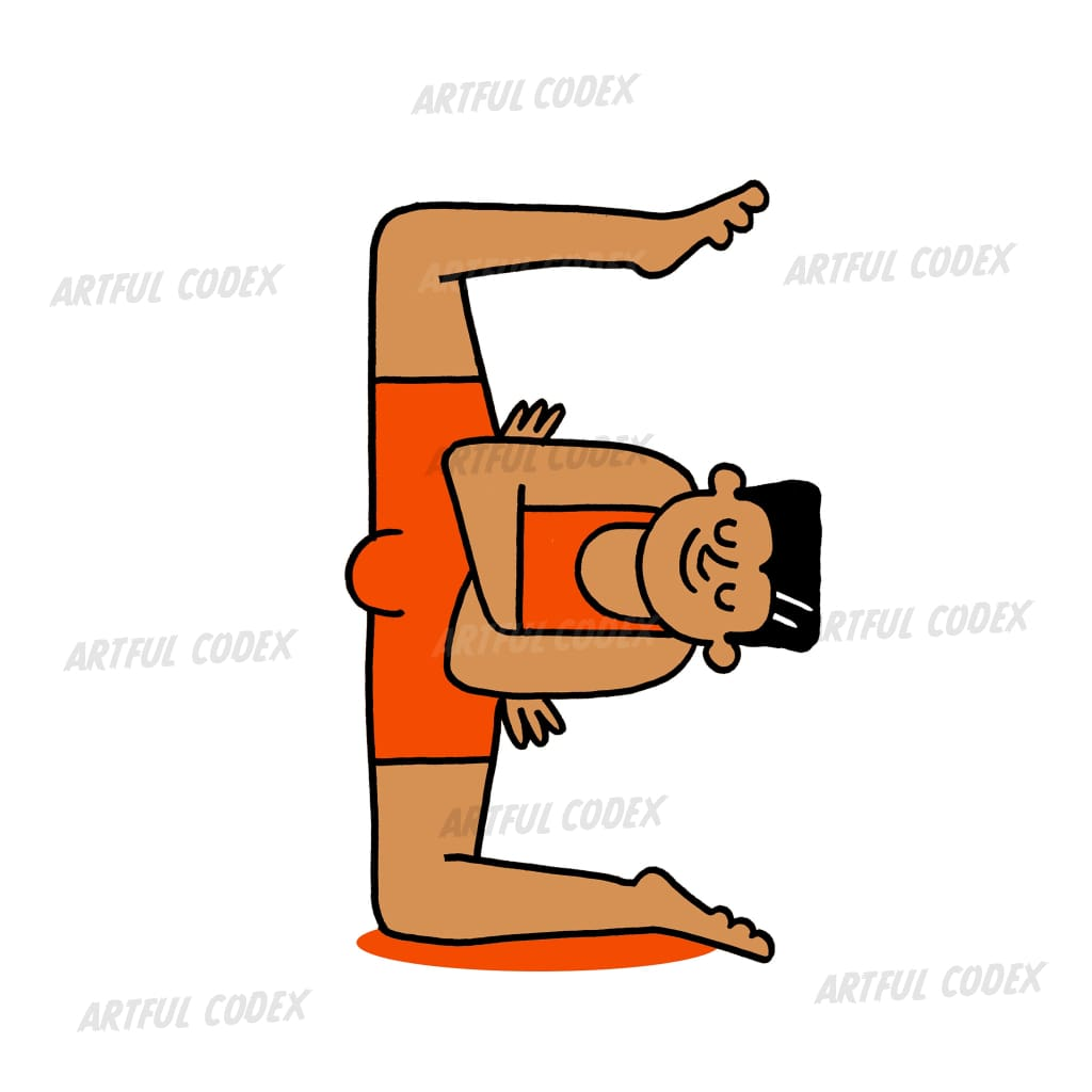 Yoga People E Illustration
