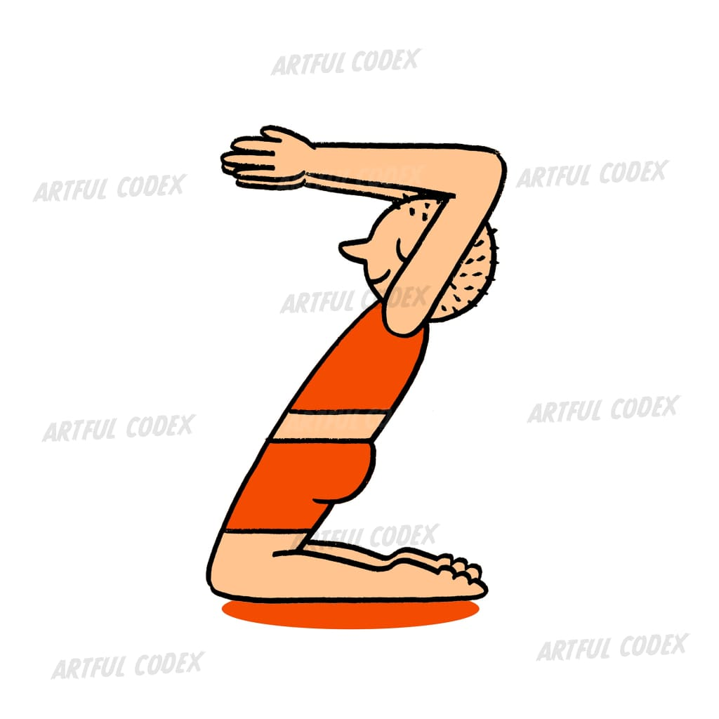 Yoga People Z Illustration