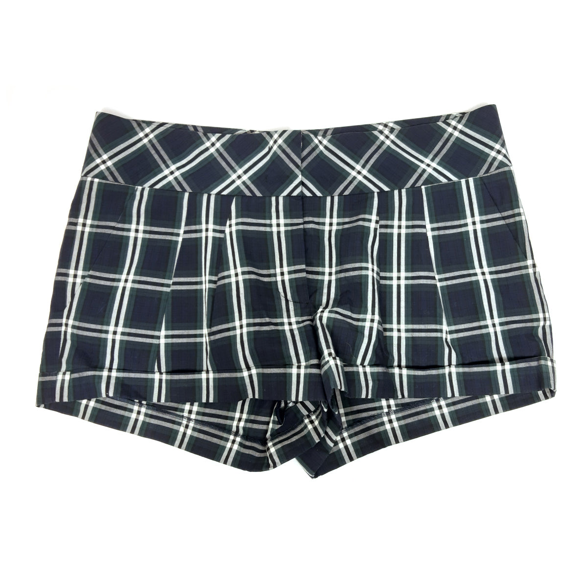 Joseph Plaid Shorts in Blue, Green and White Size 40 (EU)
