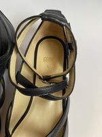 Globe Black Strappy Sandals Size 37 (EU)