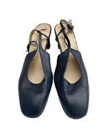 CHARLES JOURDAN Blue Leather Sandals Size 40 (EU)