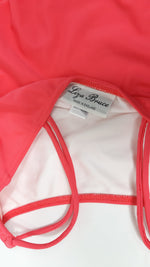 Liza Bruce Swimsuit in Pink with Double Strap in Size S