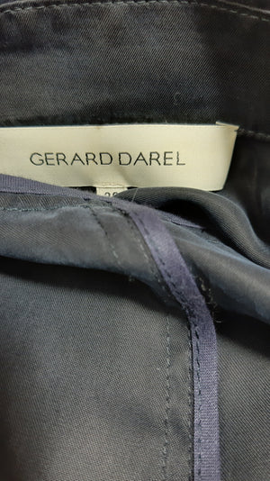 GERALD DAREL Blue Lightweight Suit with Wide Leg Pants Size 36 (EU)