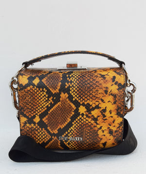 Steve Madden Snake Pattern Shoulder Bag