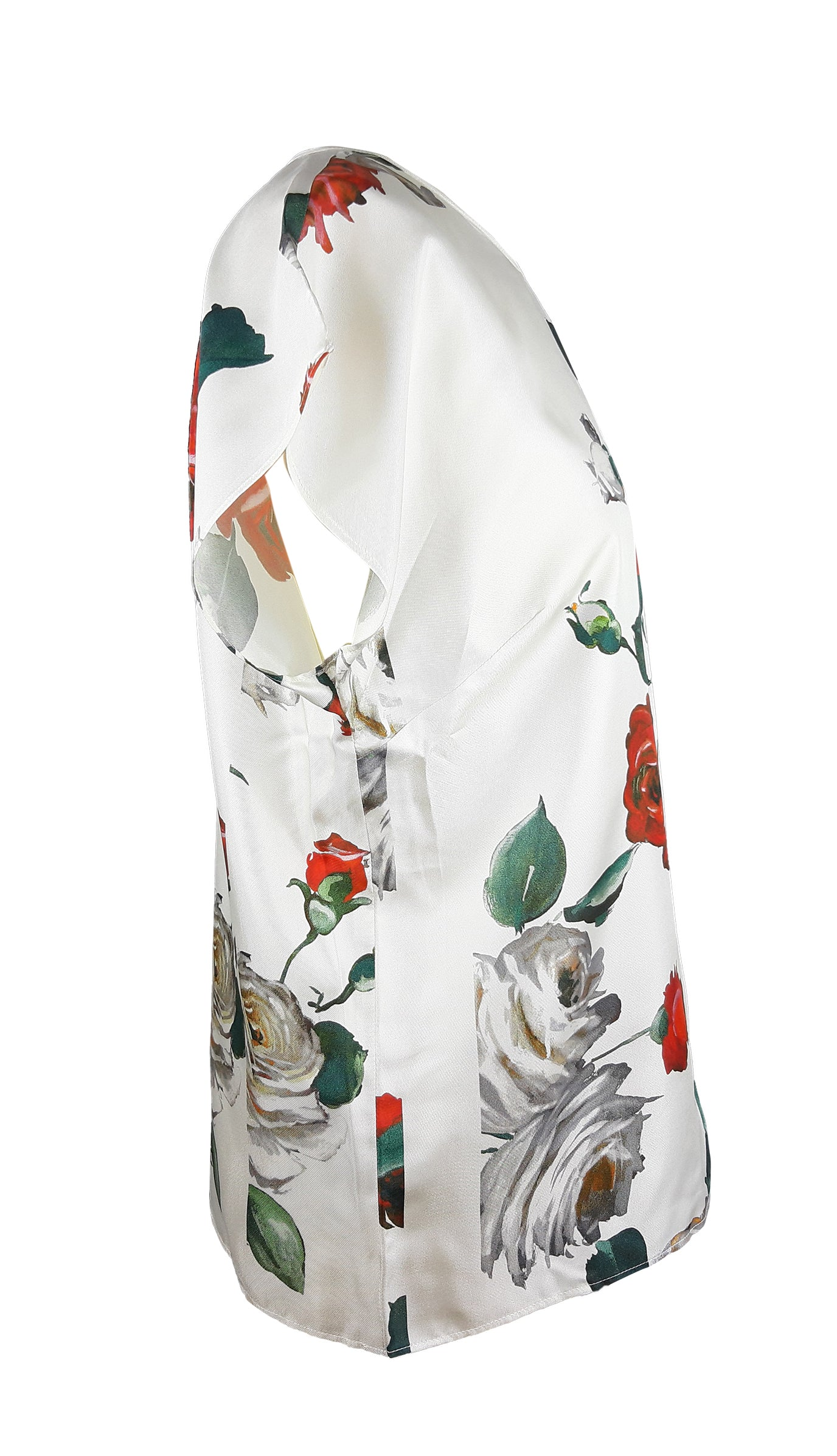 Dolce & Gabbana Roses Blouse Size 42 (IT) 38(EU)
