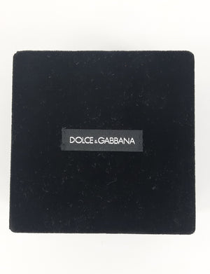 Dolce & Gabbana Golden Chain Necklace with Heart and Key