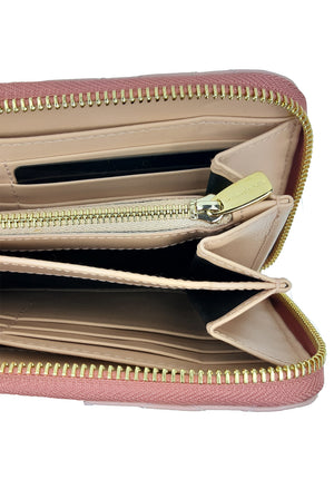 Dolce & Gabbana Pink Wallet in Leather