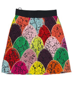 Dolce & Gabbana Multicolour Lace Skirt Size 40 (IT) 36 (EU)