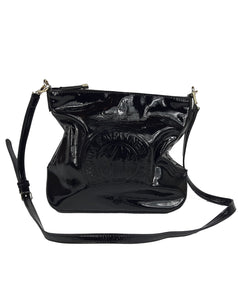 DKNY Crossbody Bag in Black Patent Leather