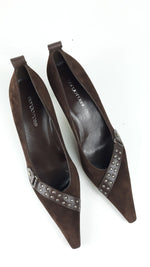 Sergio Rossi  Brown Mid Heel shoes size 39 (EU)