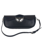 Louis Vuitton Authentic Cassis Epi Leather Montaigne Black HandBag