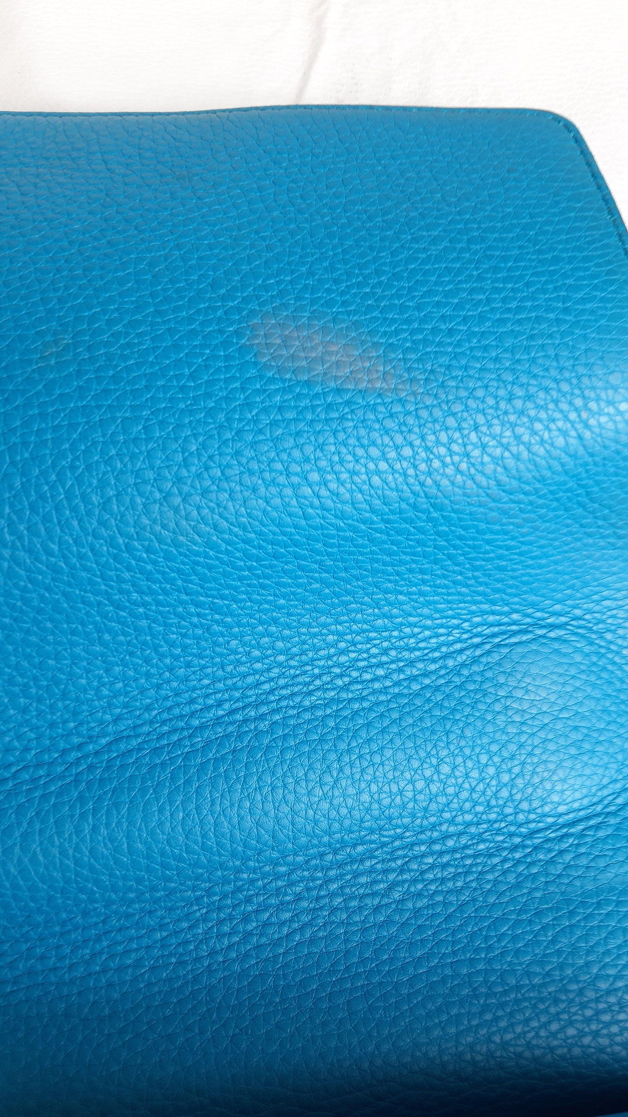 Gucci Marmont Turquoise Shoulder Bag in Leather