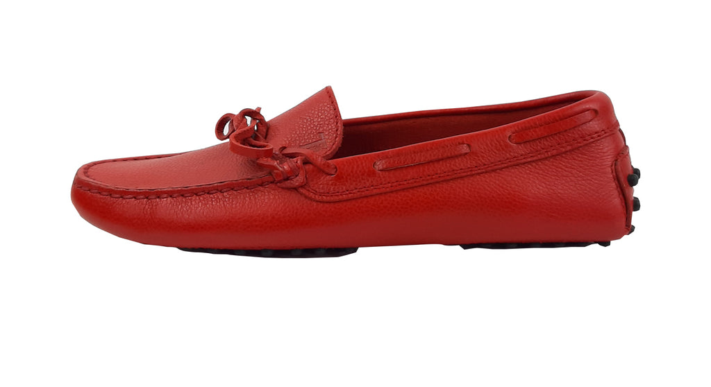 Tod's Ferrari Red Loafers Size 37 (EU)