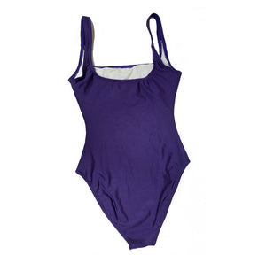 Liza Bruce Swimsuit in Purple in Size S