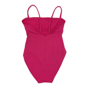 Eres Swimsuit in Dark Pink in Size S