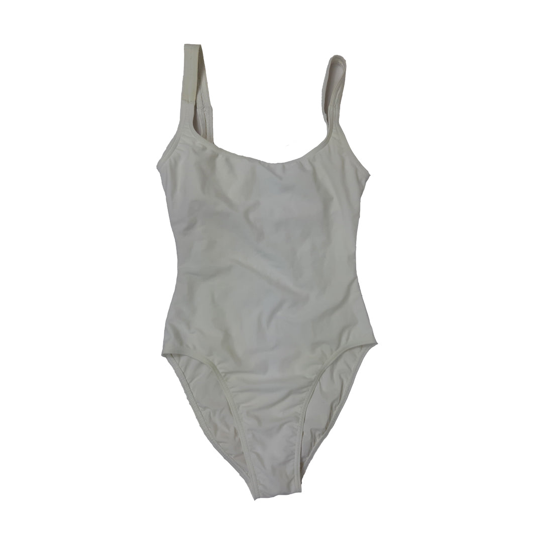 Liza Bruce Swimsuit in White in Size S