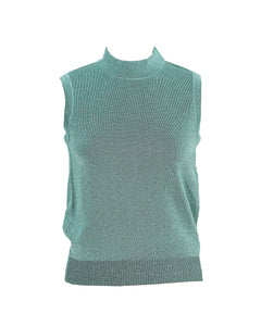 Missoni Shiny Green Top Size 36 (EU)