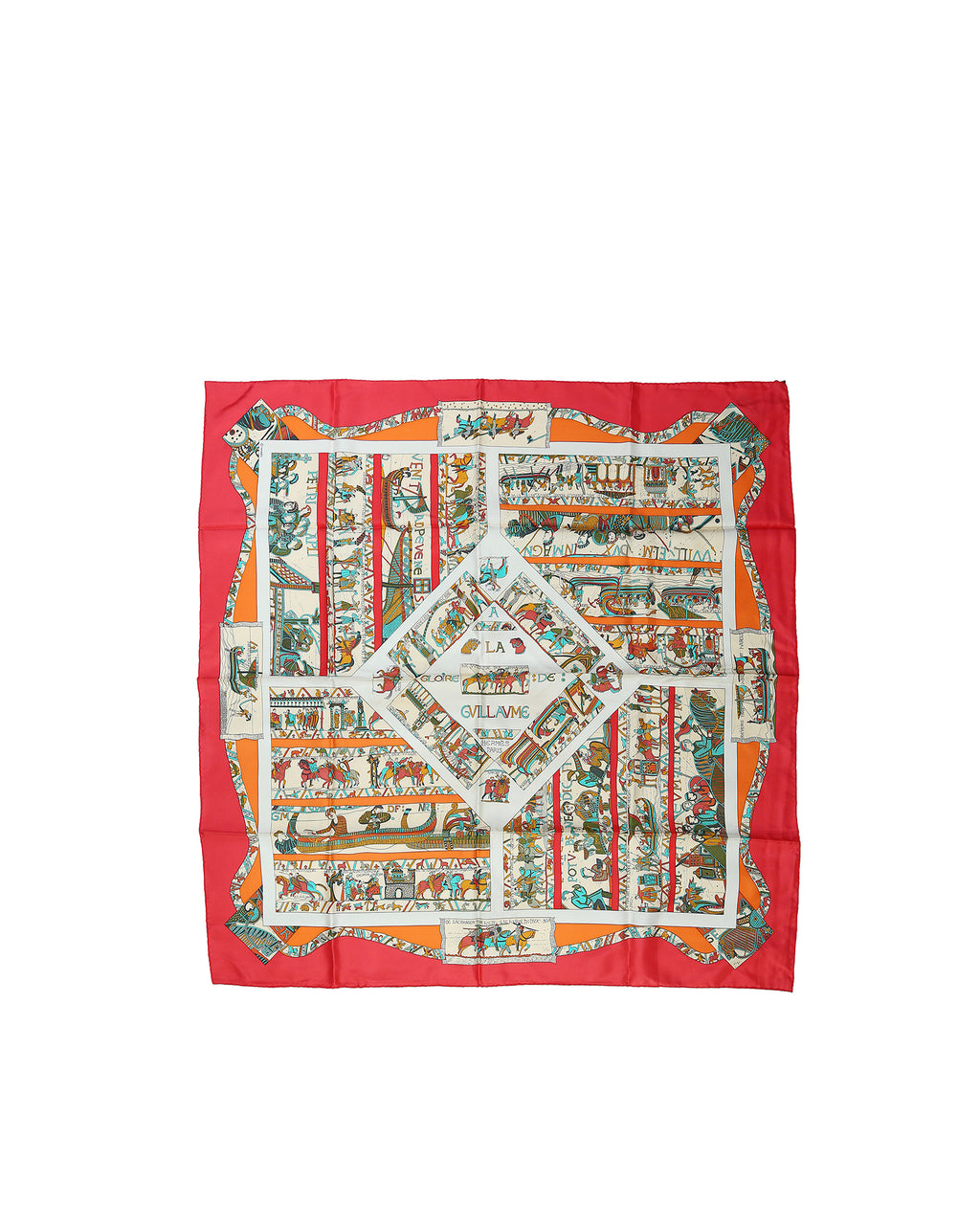 Hermès Vintage (1992 collection) Silk Scarf