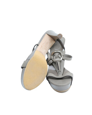 Gucci Grey Sandals Size 38 (EU)