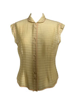 Marc Jacobs Blouse in Beige Size 10 (US)