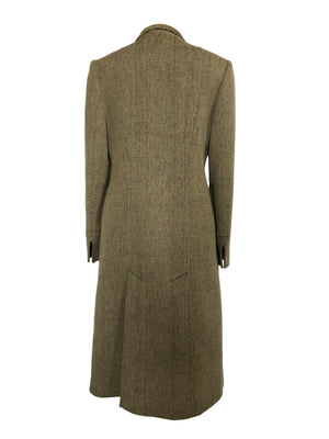Valentino Suit: Skirt and Long Coat in Brown Wool Size 38/40 (EU)