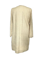 Oscar De La Renta Dress and Coat Set in Beige Size 6 (US)