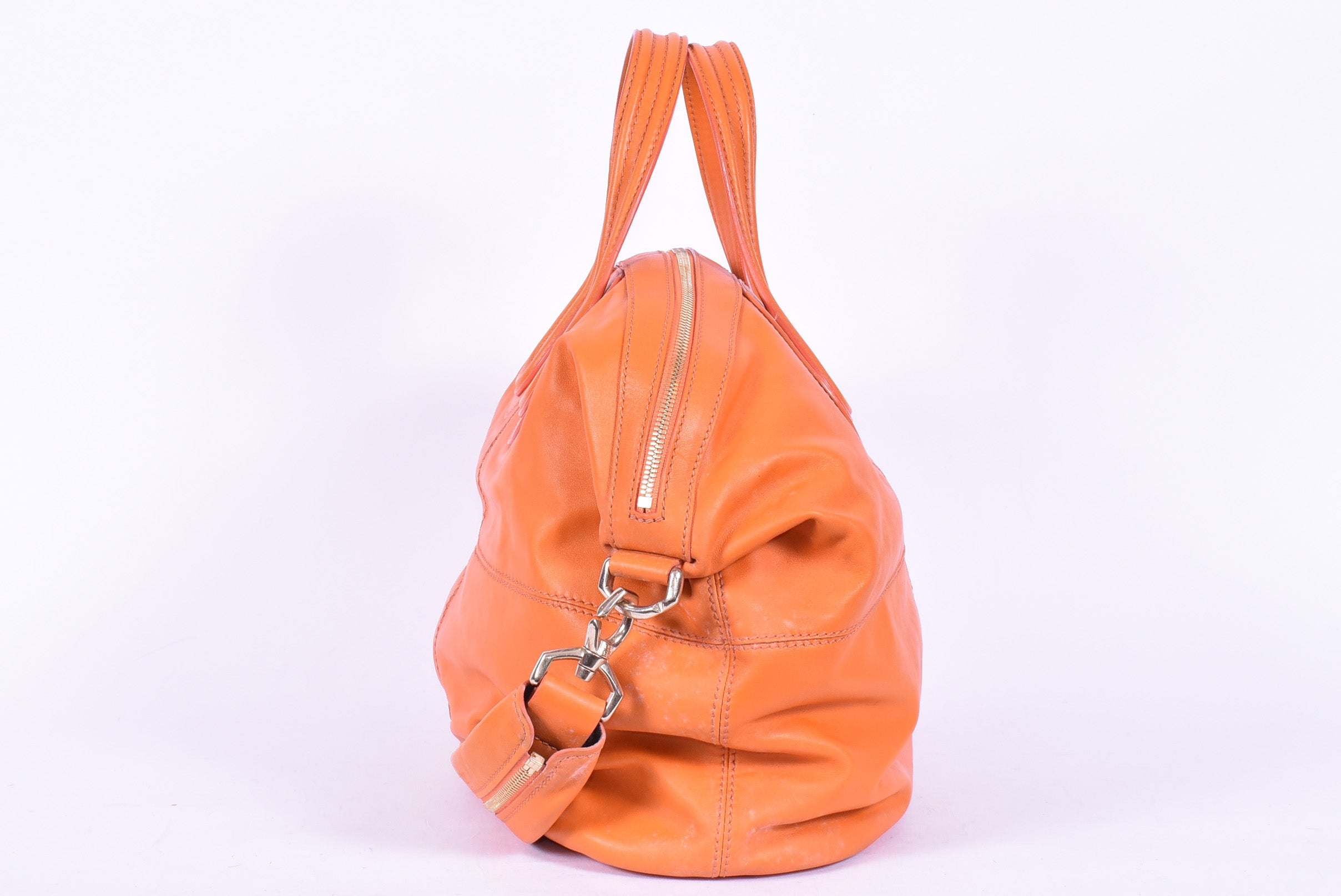 Givenchy Orange and Golden Details Bag