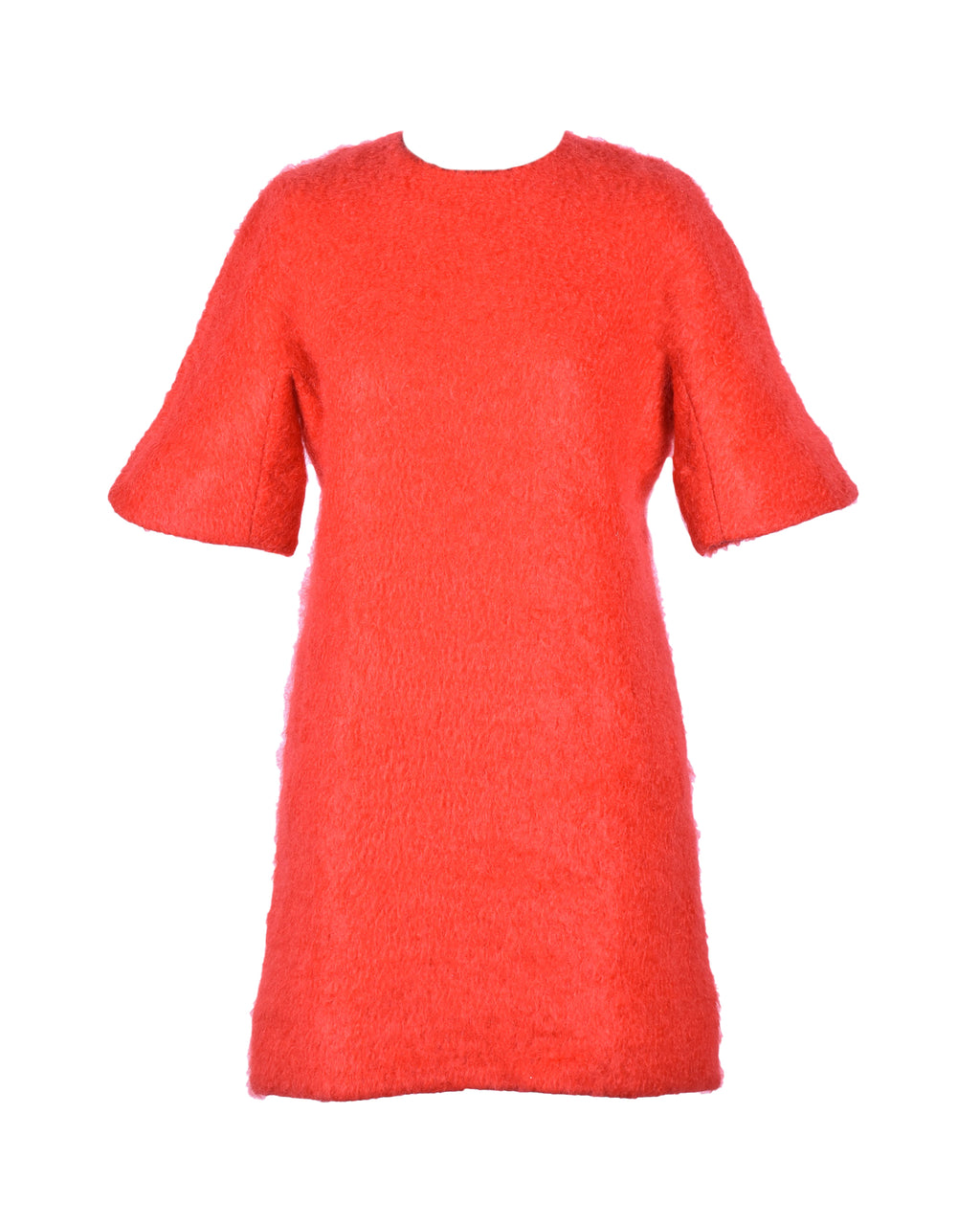 MSGM Red Wool Dress Size 42 (EU)