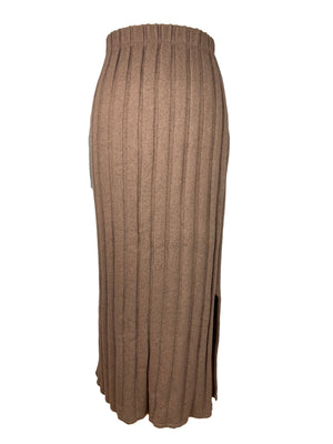 Tricot Chic Wool Skirt in Brown Size 42 (EU)