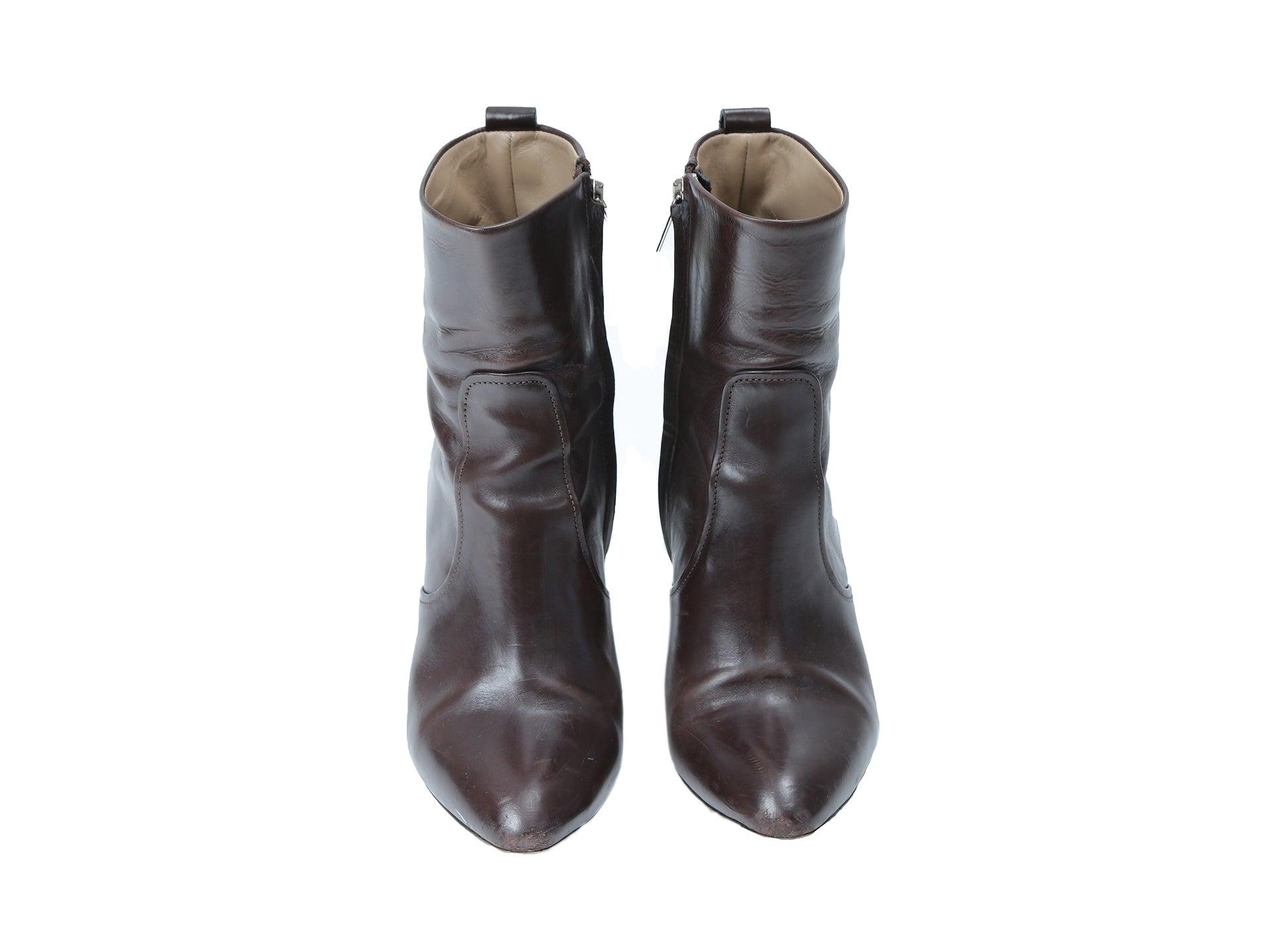 Luís Onofre Brown with Silver detail Boots Size 36 (EU)