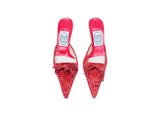 Emma Hope Suede Red Mules Size 37 (EU)