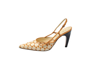 Prada Sandals in Beige and Orange Size 37 (EU)