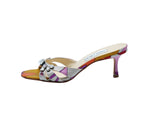 Jimmy Choo Multicolour Mules with Rhinestones Size 37 (EU)