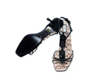 Prada Sandals with Black Beads Size 37 (EU)